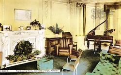 Eastwood Grange Drawing Room c.1955, Ashover