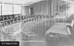 Ashover, Eastwood Grange, Moss Conference Hall c.1955