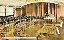 Eastwood Grange, Moss Conference Hall c.1955, Ashover