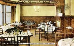 Eastwood Grange, The Dining Room c.1955, Ashover