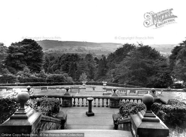 Photo of Ashover, Eastwood Grange, View From The Terrace c.1955