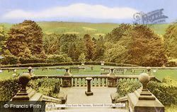 Eastwood Grange, View From The Terrace c.1955, Ashover