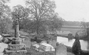 Ashow, Sundial and River c1880