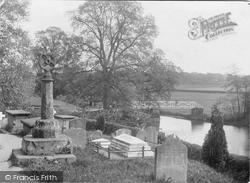 Ashow, Sundial And River Avon c.1880