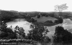 Ashprington, River Dart, Sharpham 1898