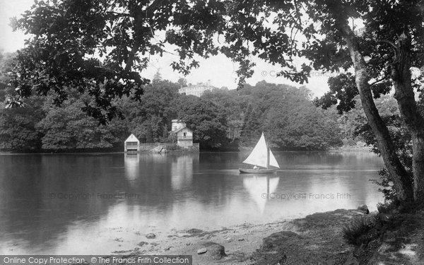 Photo of Ashprington, Sharpham House And The Boathouse 1899