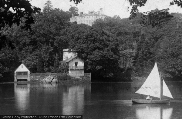 Photo of Ashprington, Sharpham House, The Bathing House 1899
