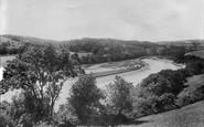 Ashprington, Sharpham, The River Dart 1898