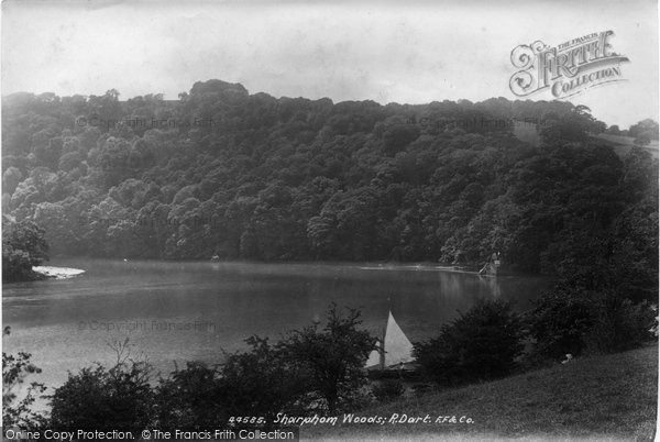 Photo of Ashprington, Sharpham Woods, River Dart 1899