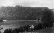Ashprington, Sharpham Woods, River Dart 1899