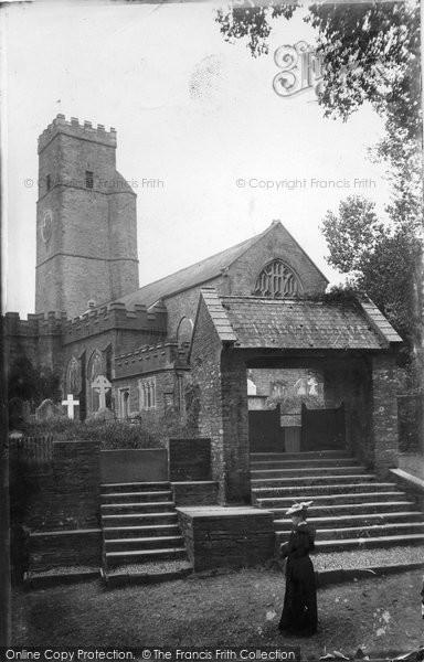 Photo of Ashprington, St David's Church 1905
