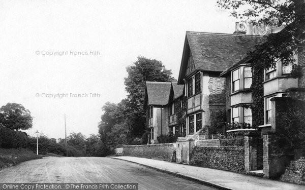 Photo of Ashtead, Almshouses And Epsom Road 1904