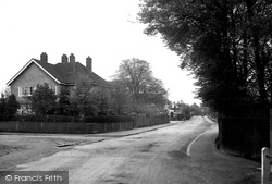 Ashtead, Barnett Wood Lane 1913