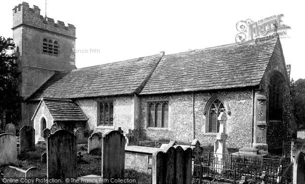 Photo of Ashtead, Church Of St Giles 1890