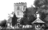 Ashtead, Church Of St Giles And Lychgate 1904