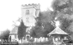 Ashtead, Church Of St Giles And Lychgate 1904