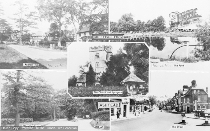 Photo of Ashtead, Composite c.1960