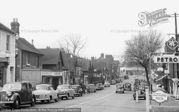 Photo of Ashtead, Main Street c.1955