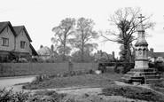 Ashtead, New Road And Fountain 1913