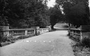 Ashtead, Park, The Bridge c.1955