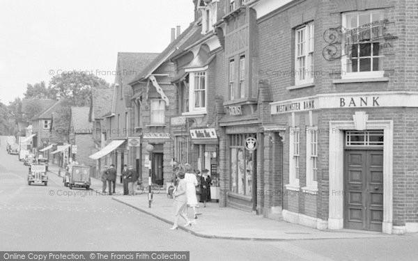 Photo of Ashtead, People, The Street 1950