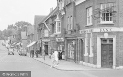 Ashtead, People, The Street 1950