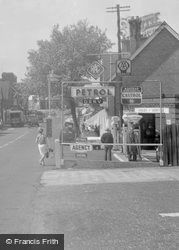 Ashtead, Petrol Station, The Street 1961