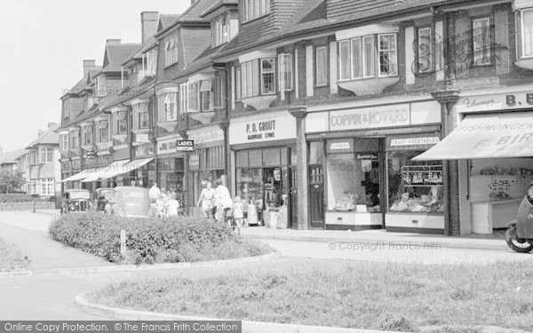 Photo of Ashtead, Shops 1950