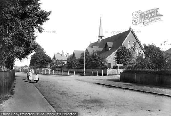 Photo of Ashtead, St George's Church 1908