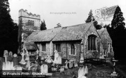 Ashtead, St Giles Church c.1955