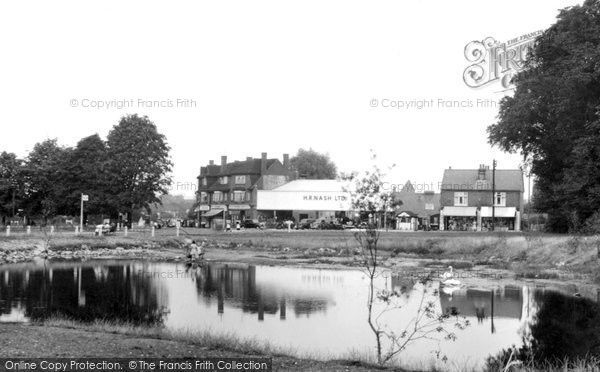 Photo of Ashtead, The Fish Pond c.1950