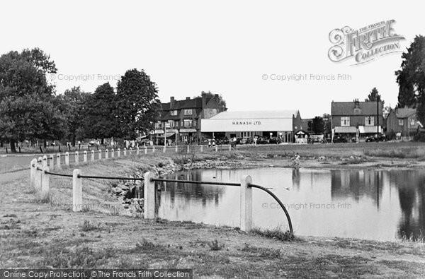 Photo of Ashtead, The Pond 1950