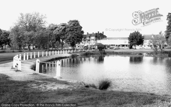 Photo of Ashtead, The Pond c.1960