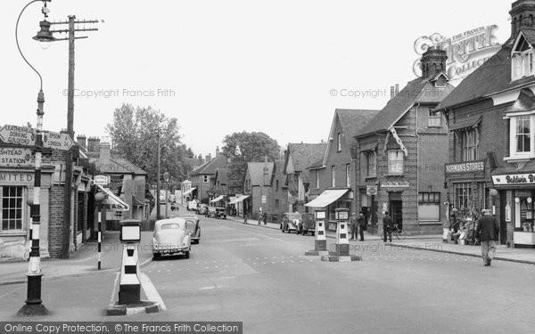 Photo of Ashtead, the Street 1950