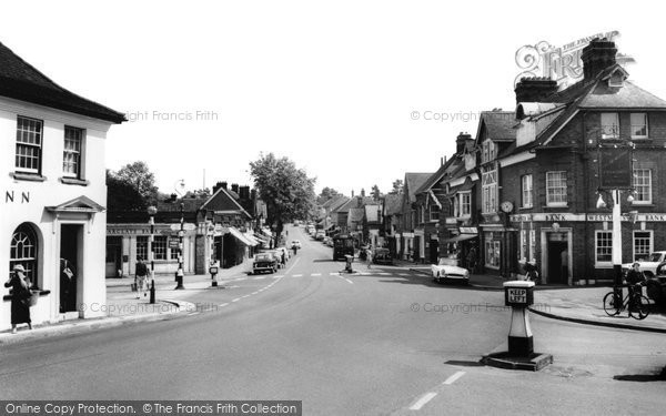 Photo of Ashtead, The Street c.1960