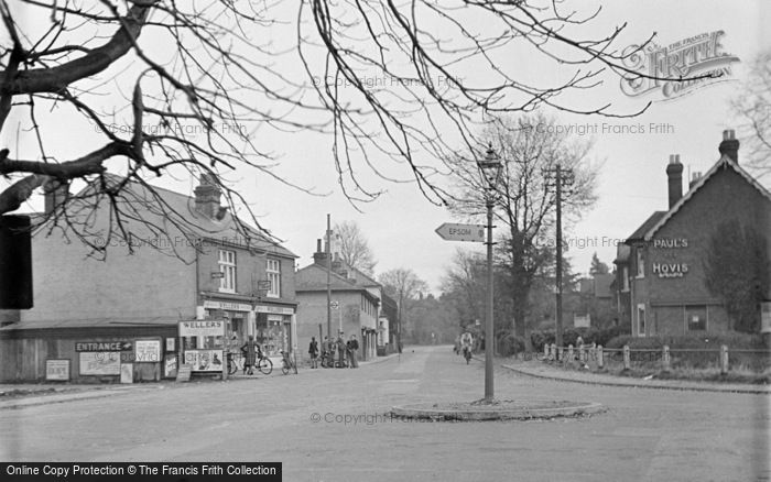 Photo of Ashtead, Woodfield Lane c.1950