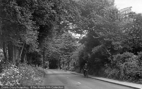 Photo of Ashtead, Woodfield Lane c.1960