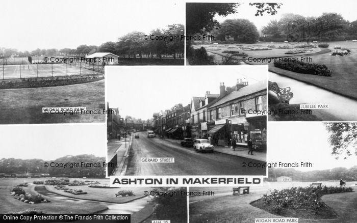 Photo of Ashton In Makerfield, Composite c.1960