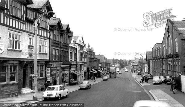 Photo of Ashton In Makerfield, Gerrard Street c.1963