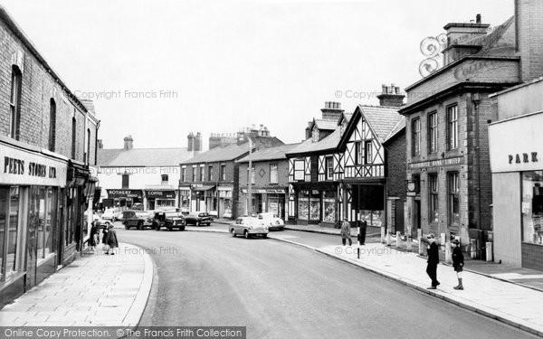 Ashton In Makerfield, Gerrard Street c.1963