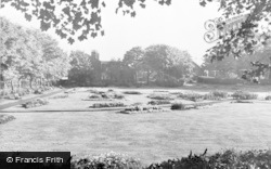 Ashton-In-Makerfield, Jubilee Park c.1960