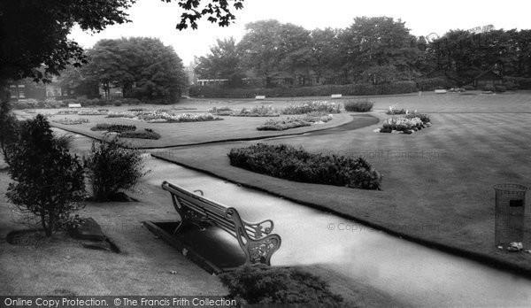 Photo of Ashton-in-Makerfield, Jubilee Park c1960