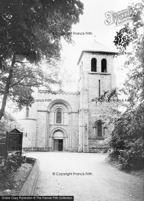 Photo of Ashton In Makerfield, St Oswald's Church c.1960
