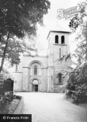 Ashton-In-Makerfield, St Oswald's Church c.1960