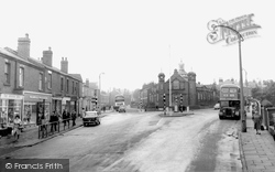 Ashton-In-Makerfield, The Library Wigan Road c.1960