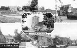 Ashton Keynes, Composite c.1955