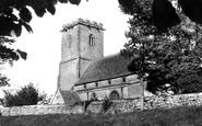 Ashton Keynes, Holy Cross Church c.1955