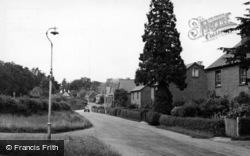 Ashurst Wood, Homedale Cottages c.1955