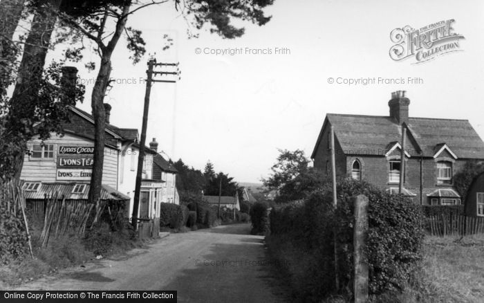 Photo of Ashurst Wood, Maypole Road c.1955