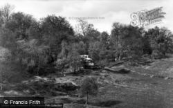 Ashurst Wood, The Rocks c.1960